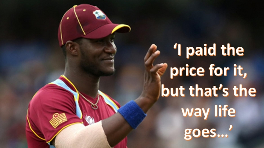 'You seek forgiveness when you do something wrong'- former WI skipper Sammy has no remorse for career-ending post World Cup rant