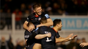 Saracens claim fifth straight Premiership win as Chiefs go top