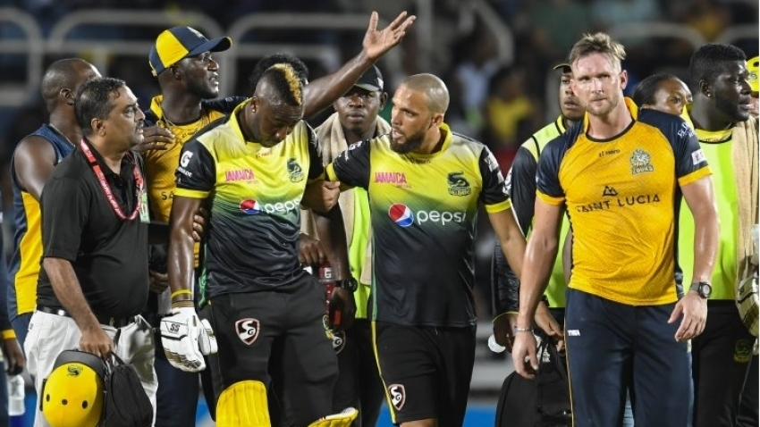 Russell going down was a 'key moment' for the Zouks - Darren Sammy