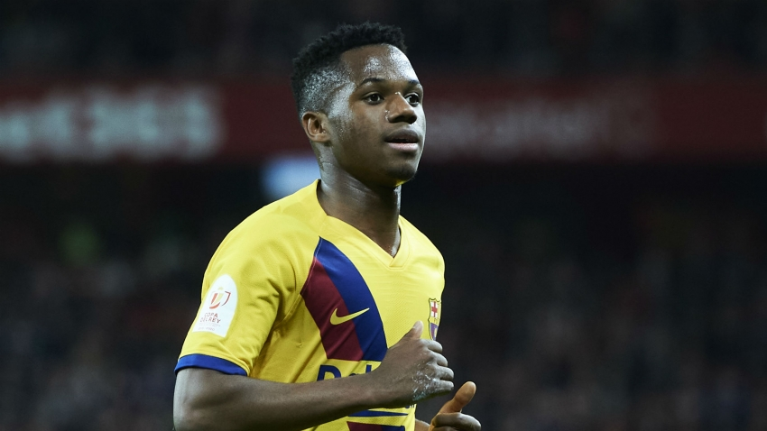 Ansu Fati takes Barcelona's number 22 shirt and has buy-out clause raised to €400m