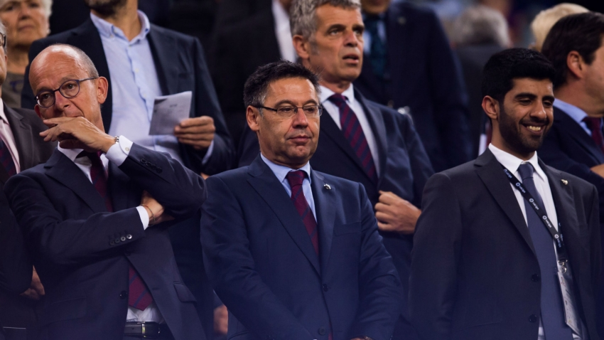 Barcelona did not use social media to discredit players – Bartomeu