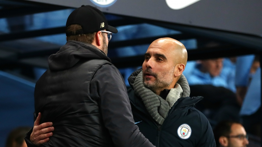 Guardiola congratulates Klopp and vows to see out his own contract at Manchester City