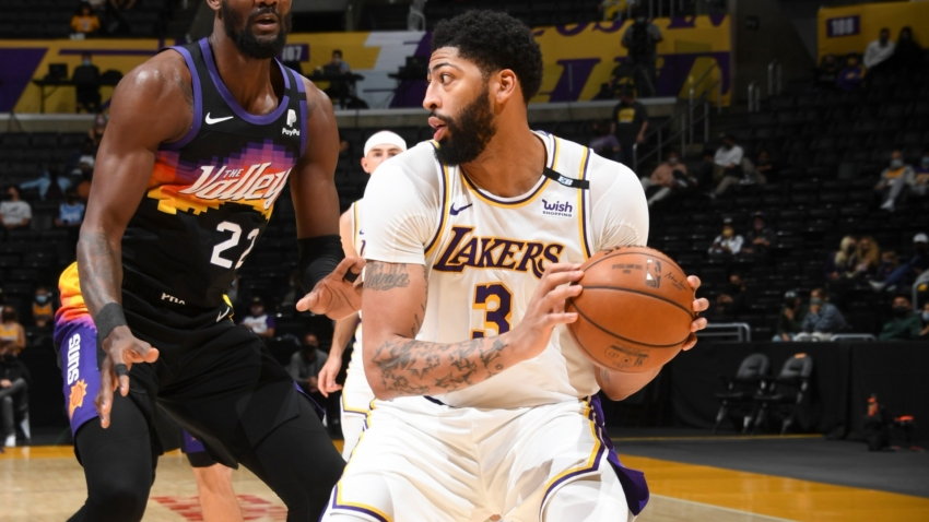 LeBron-less Lakers issue reminder as Davis' 42-point double-double sinks Suns
