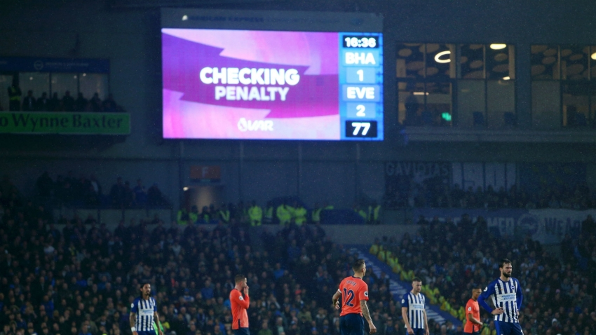 Premier League to improve VAR communication with fans in stadiums