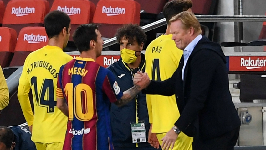 Barcelona have to win to make Messi happy - Koeman