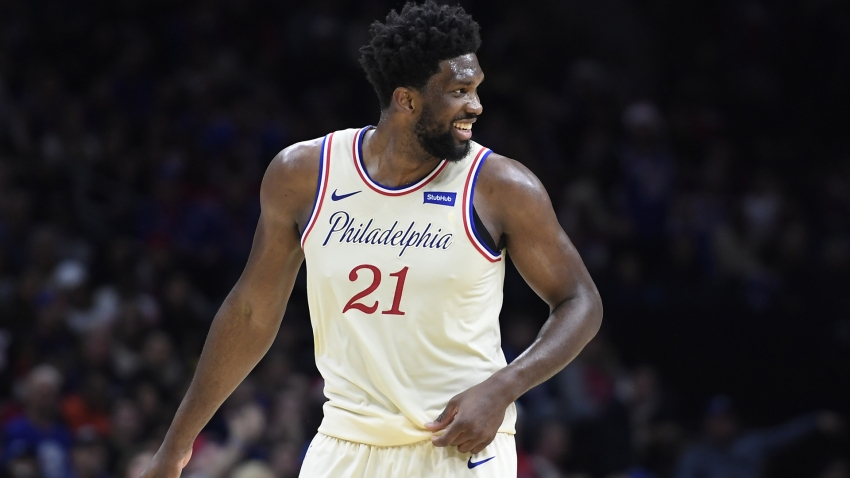 Kobe Bryant dead: Embiid wears number 24 to honour Lakers great on return from injury