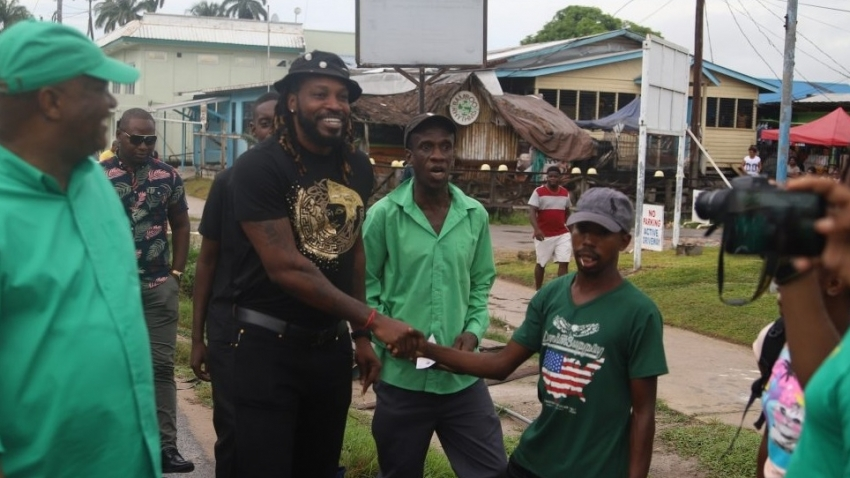'I'm not political' - Gayle sets records straight on rumours regarding affiliation to political party