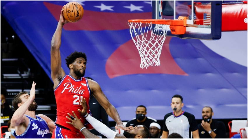 Embiid wanted LeBron ejected for 'very dangerous play' as 76ers edge out Lakers
