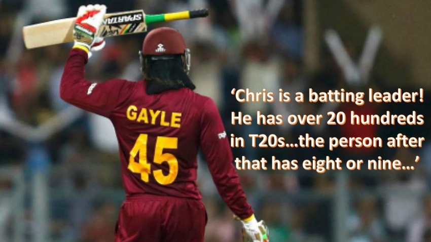 'He knows the big occasion' – Sammy would definitely pick 'experienced' Gayle for T20 World Cup