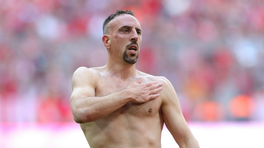 Ribery hopes to play to 40 but won't be Ronaldo rival