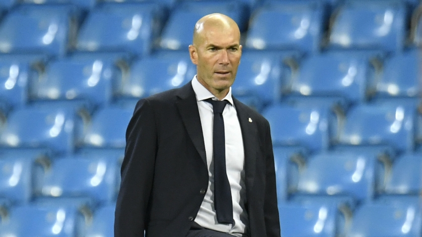 I am the coach of Real Madrid, that's it – Zidane dismisses doubts over his future