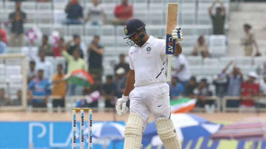 Rohit and Rahane put India on top after poor start in Ranchi