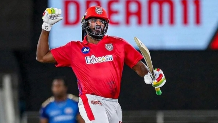 Gayle and Mandeep too much for KKR as Kings XI boost play-off hopes
