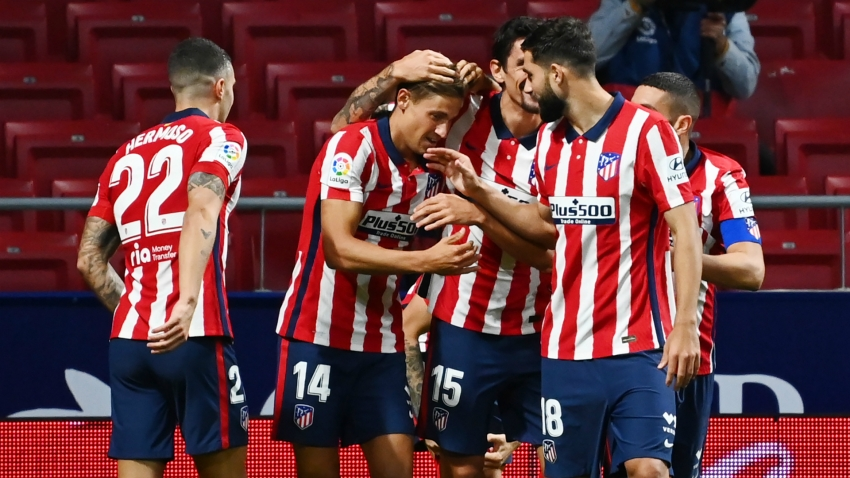 Atletico Madrid 2 0 Real Betis Llorente And Suarez Strike To Seal New Club Record