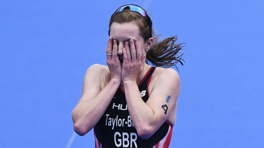 British triathletes disqualified for crossing finish line together at Olympic qualification event