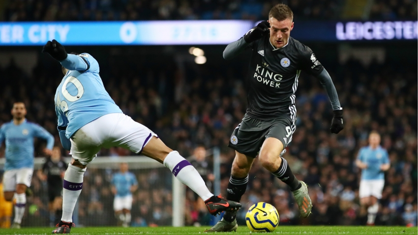 Vardy earns Guardiola praise as Man City boss salutes Leicester striker