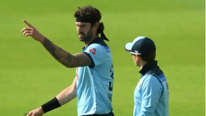 England seamer Topley to miss final Ireland ODI