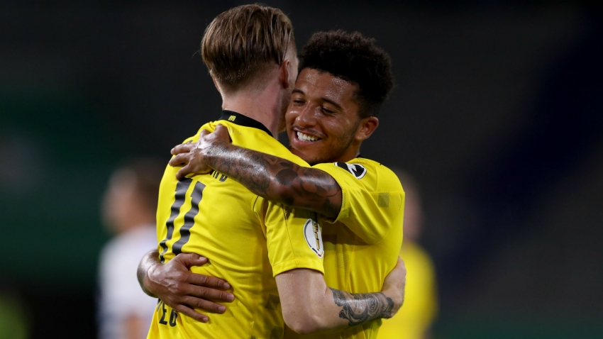 Dortmund excited to keep Man Utd target Sancho for at least one more year - Reus