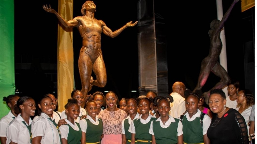 Veronica Campbell Brown: Statue is 'a blessing, a gesture I truly appreciate'