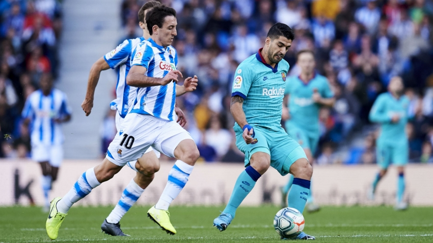 Real Sociedad 2-2 Barcelona: Catalans slip up ahead of Clasico
