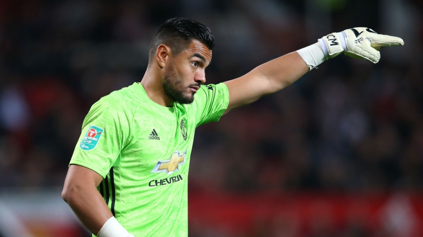 Man Utd goalkeeper Romero unharmed in car crash