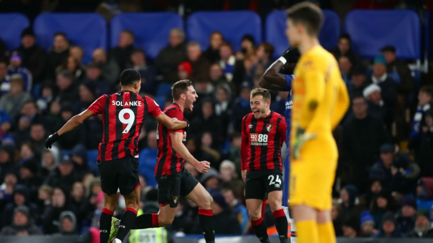 Chelsea 0-1 Bournemouth: Late Gosling strike downs Lampard's men