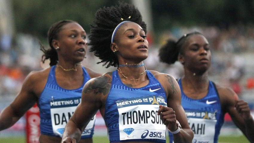 Elaine Thompson continues 100-metre dominance in Paris