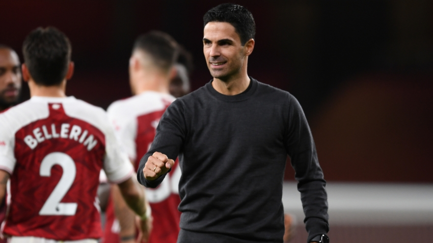 Arsenal 'lucky' against West Ham but mentality pleases Arteta