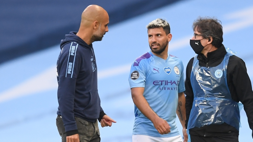 Aguero set to miss out as Guardiola warns Man City over Lyon danger