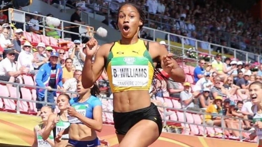 Briana Williams, a finalist for IAAF Rising Star Award