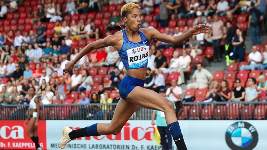 Yulimar Rojas' 15.43m shatters triple jump world record in Madrid