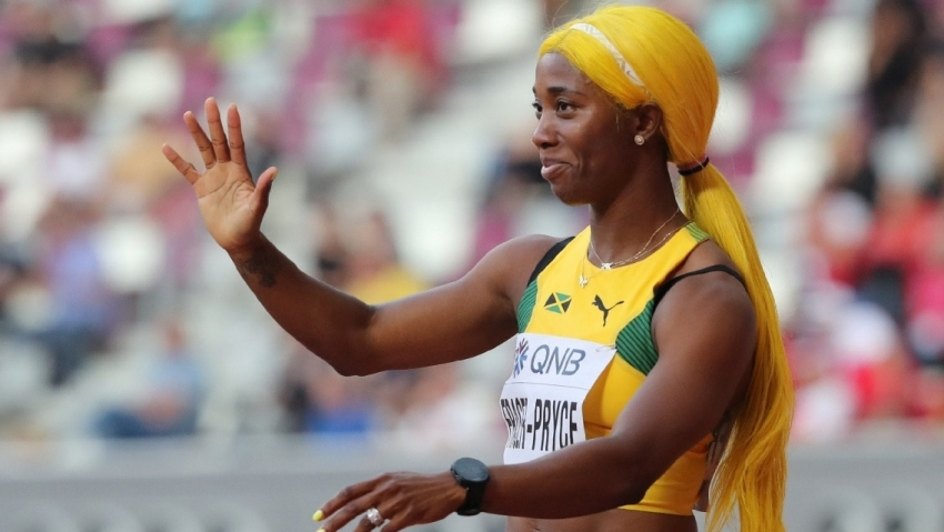 Has Fraser-Pryce switched camps again? Athlete seen training apart from MVP clubmates