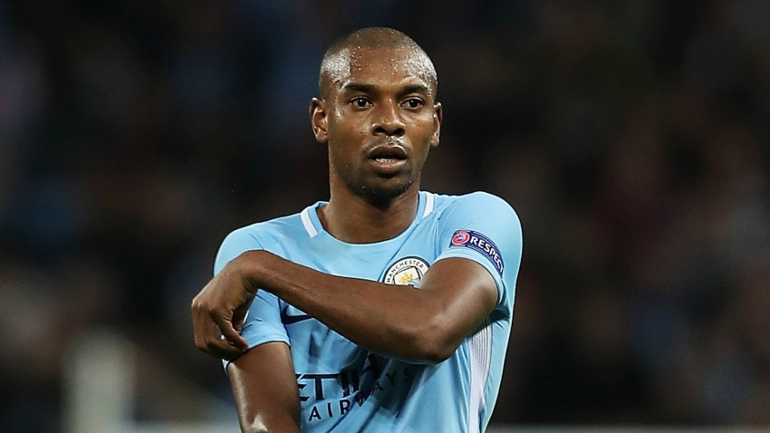 Fernandinho reveals centre-back training after City's win over Shakhtar