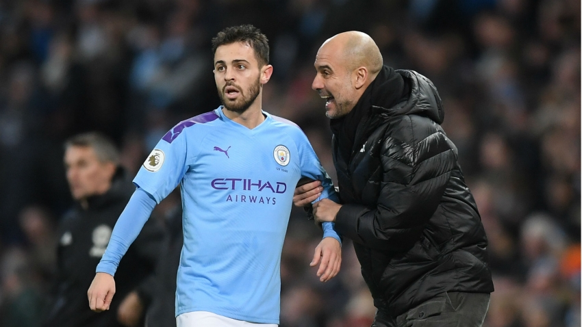 Bernardo one of the most special players I've had - Guardiola takes blame for Silva slump