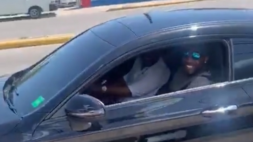 Police to probe identity of driver behind the wheel of Andre Russell's Mercedes