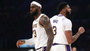 LeBron & Davis inspire Lakers as Warriors suffer another blow-out loss