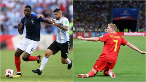 France v Belgium: Pogba and De Bruyne confronted by Zidane's path to greatness