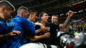 In Suker's shadow no more – Mandzukic leads Croatia's golden boys to World Cup history