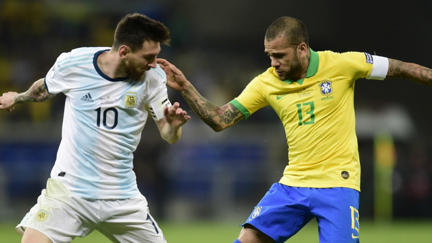 Alves: Messi disrespected Brazil with Copa America outburst