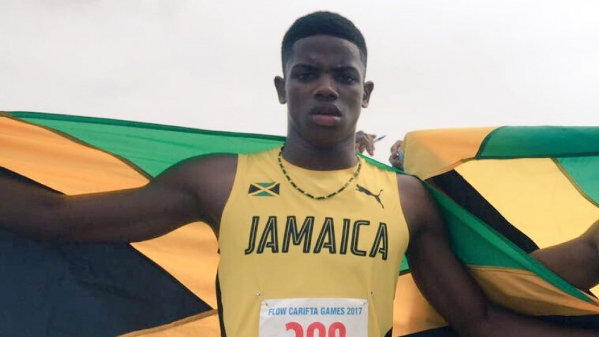 'Big men' upset in fast Digicel Grand Prix 100m final