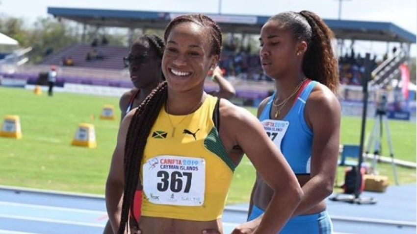 Briana Williams destroys field to claim U20 100 Gold