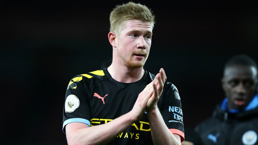 Guardiola in awe of De Bruyne's 'superhuman' passing