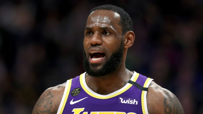 LeBron: Lakers not thinking about seeding for playoffs