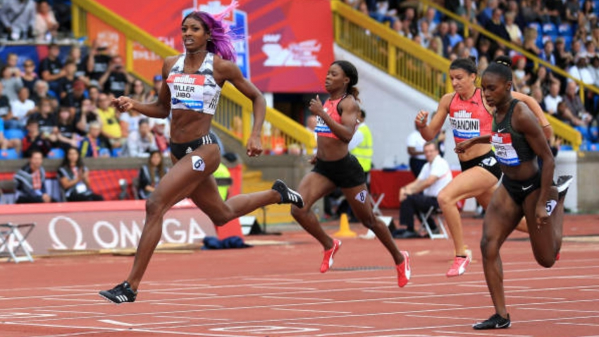 Miller-Uibo's dominance over 200 metres continues in Birmingham