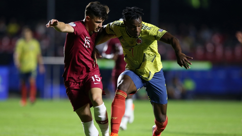 Colombia 1 Qatar 0: Zapata heads in late winner