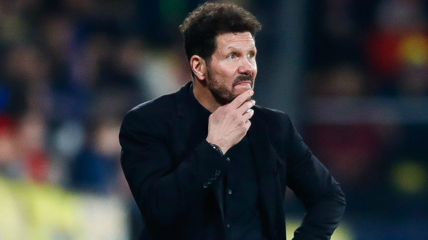 Simeone confident Atletico results will soon match his desire