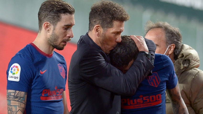 Atletico boss Simeone tells LaLiga hopefuls to 'resist' in title push as injuries mount