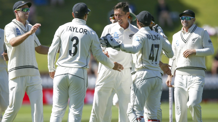 Southee claims five-for as New Zealand crush India in Test opener