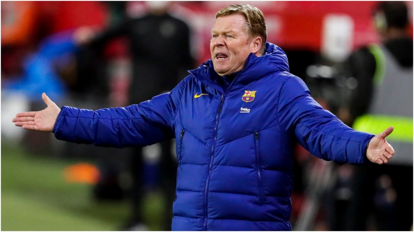 Koeman: I still believe Barca can fight for LaLiga title