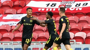 Barnsley 1-3 Brentford: Watkins heads hat-trick for buzzing Bees